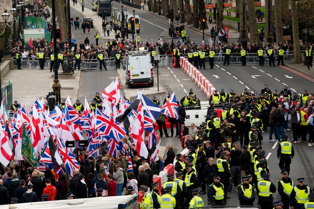 Britain First rally