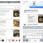 Google search in iOS iMessage