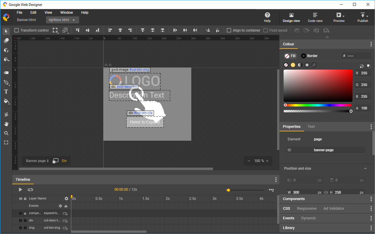 Google Web Designer 3.0 makes HTML 5 web content easy to build ...