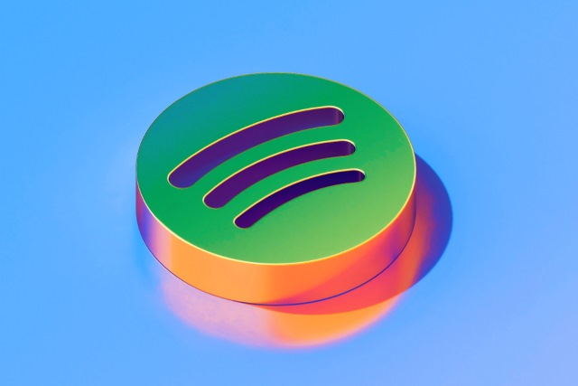 Spotify logo render