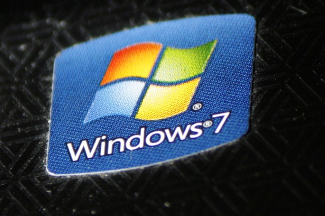 Windows 7 sticker