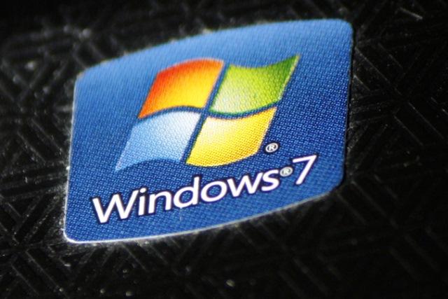 Windows 7 sticker