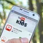 YouTube Kids app on smartphone