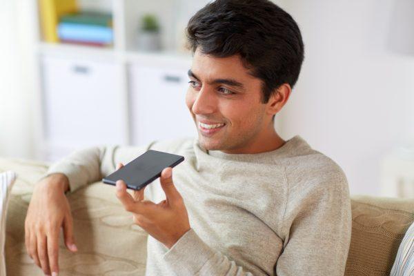 Smartphone voice command