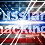 Russian hacking and US flag