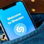 Shazam on iPhone X