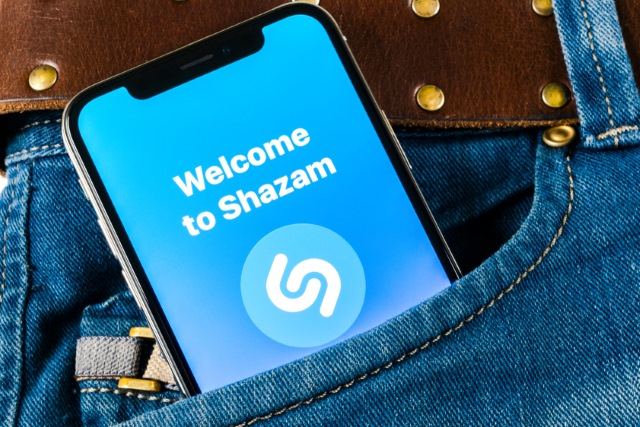Shazam on iPhone X