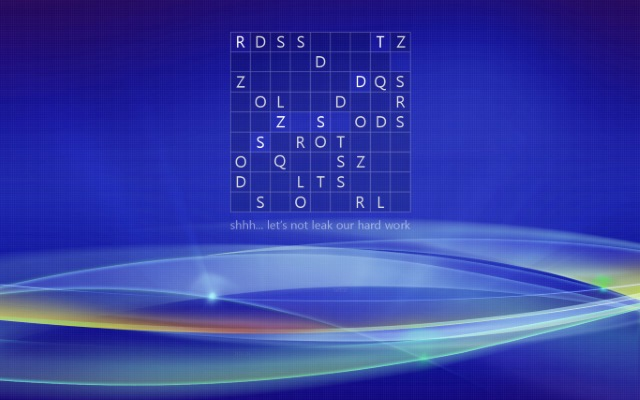 Secret puzzle in Windows 8 wallpaper