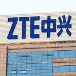 ZTE building logo
