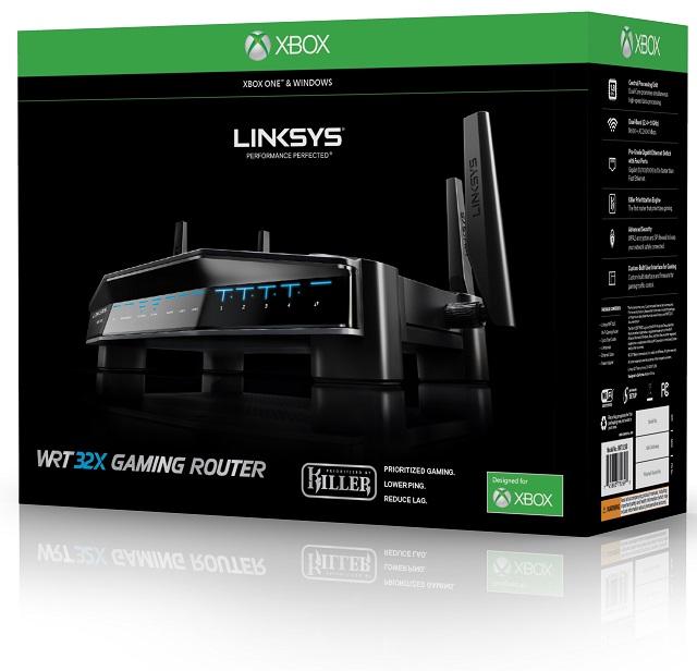 Linksys WRT32XB dual-band AC3200 Xbox One wireless gaming ...