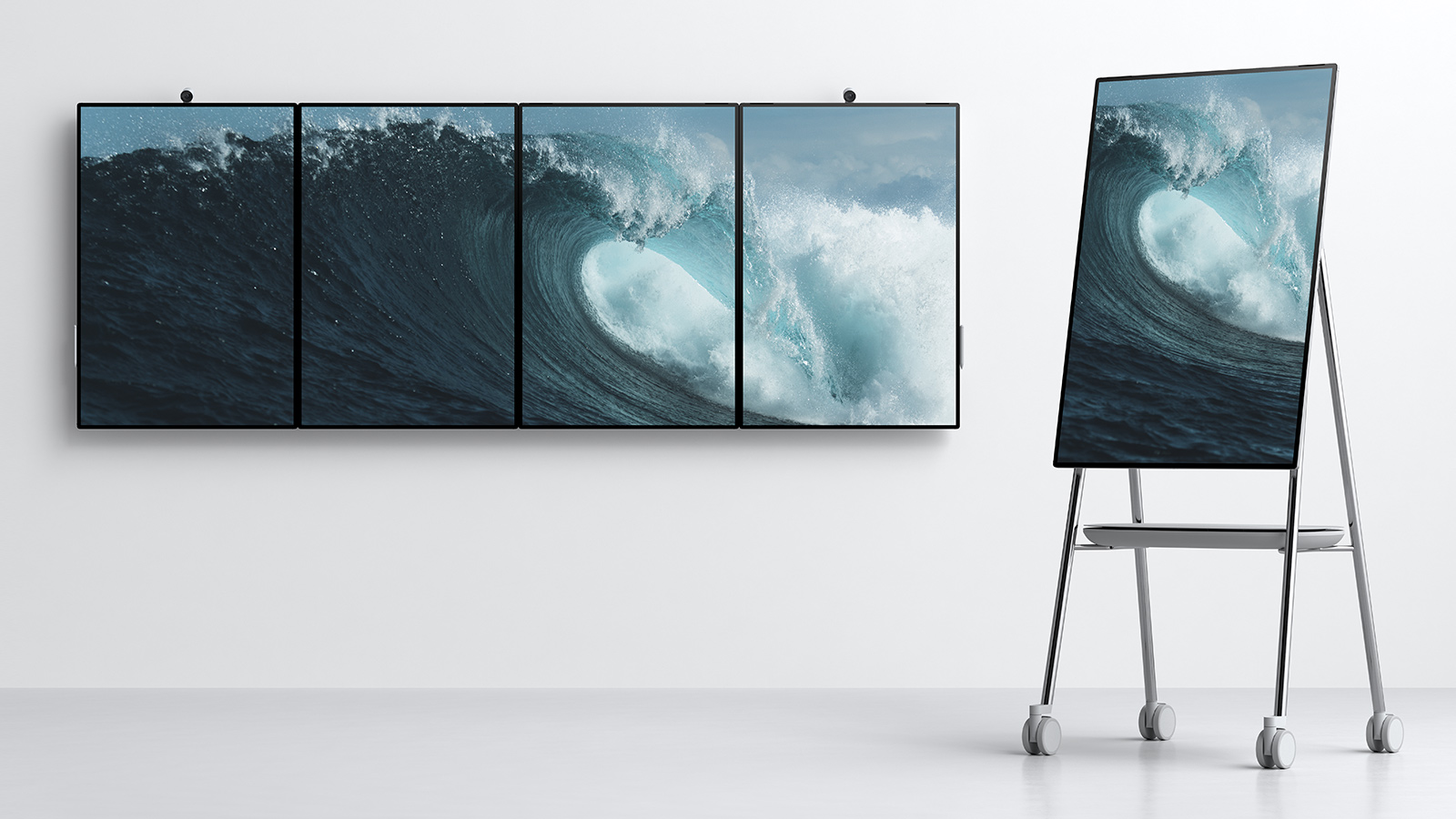 Microsoft Announces Surface Hub 2 But You Won T Be Able