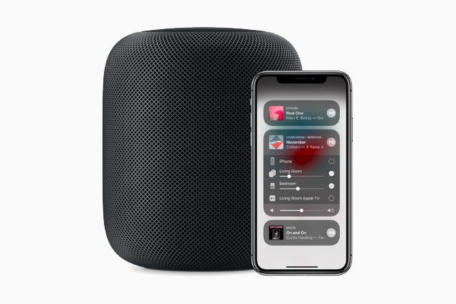 Apple HomePod and iPhone X