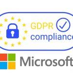 Microsoft GDPR compliance