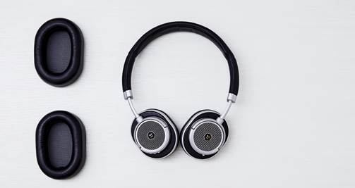 Master & Dynamic MW50+ wireless headphones
