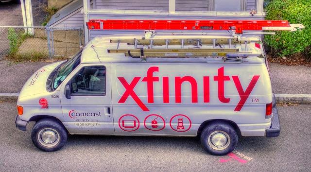 Xfinity van