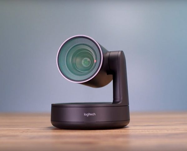 Logitech Rally is a premium 4K video conference camera for meeting rooms