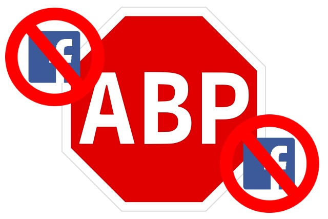 Adblock Plus blocks Facebook tracking