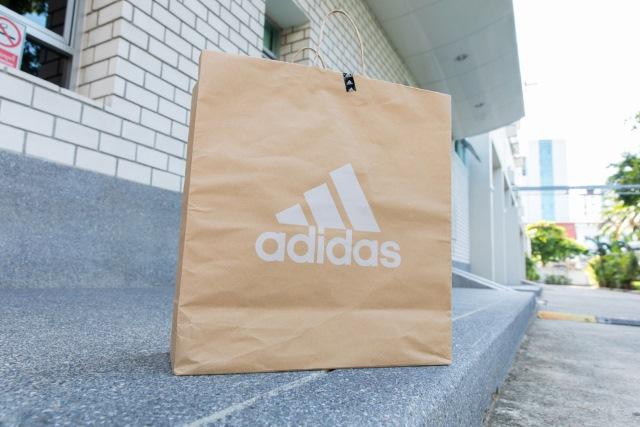 Adidas shopping bag