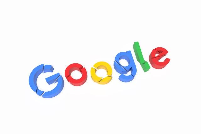 Broken Google logo