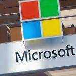 Angled Microsoft logo