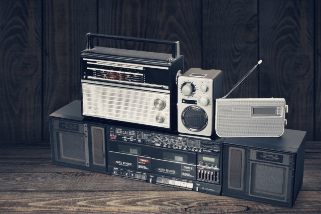 Old stereos