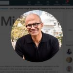 Satya Nadella on LinkedIn
