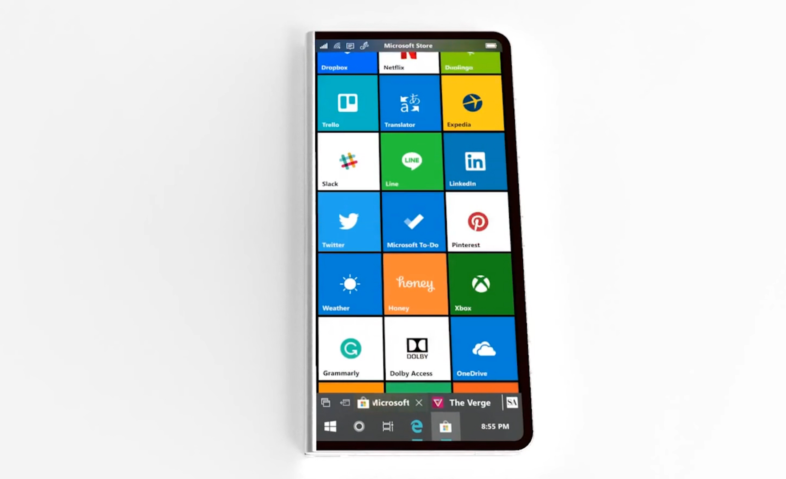 Would This Foldable Surface Phone Running Windows 10 Make You Switch From Android Or Iphone