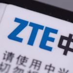 ZTE battery closeup