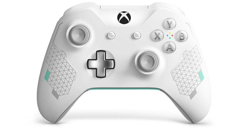 Microsoft announces 'Sport White Special Edition' Xbox One ...  Microsoft annou...
