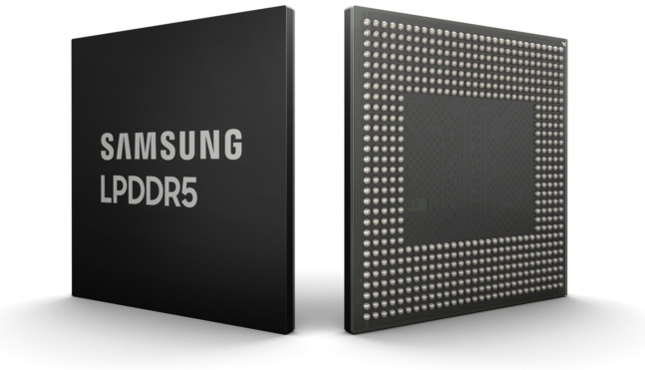 Samsung announces industry's first LPDDR5 RAM, ready for 5G