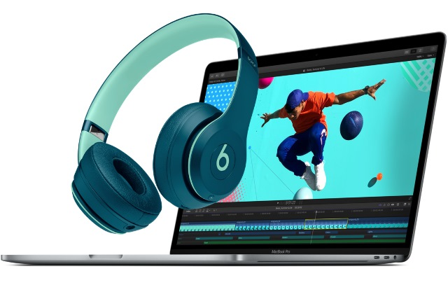 MacBook Pro and Beats headphones