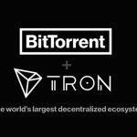 BitTorrent and TRON logos