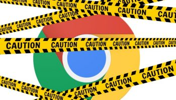 Chrome warning tape