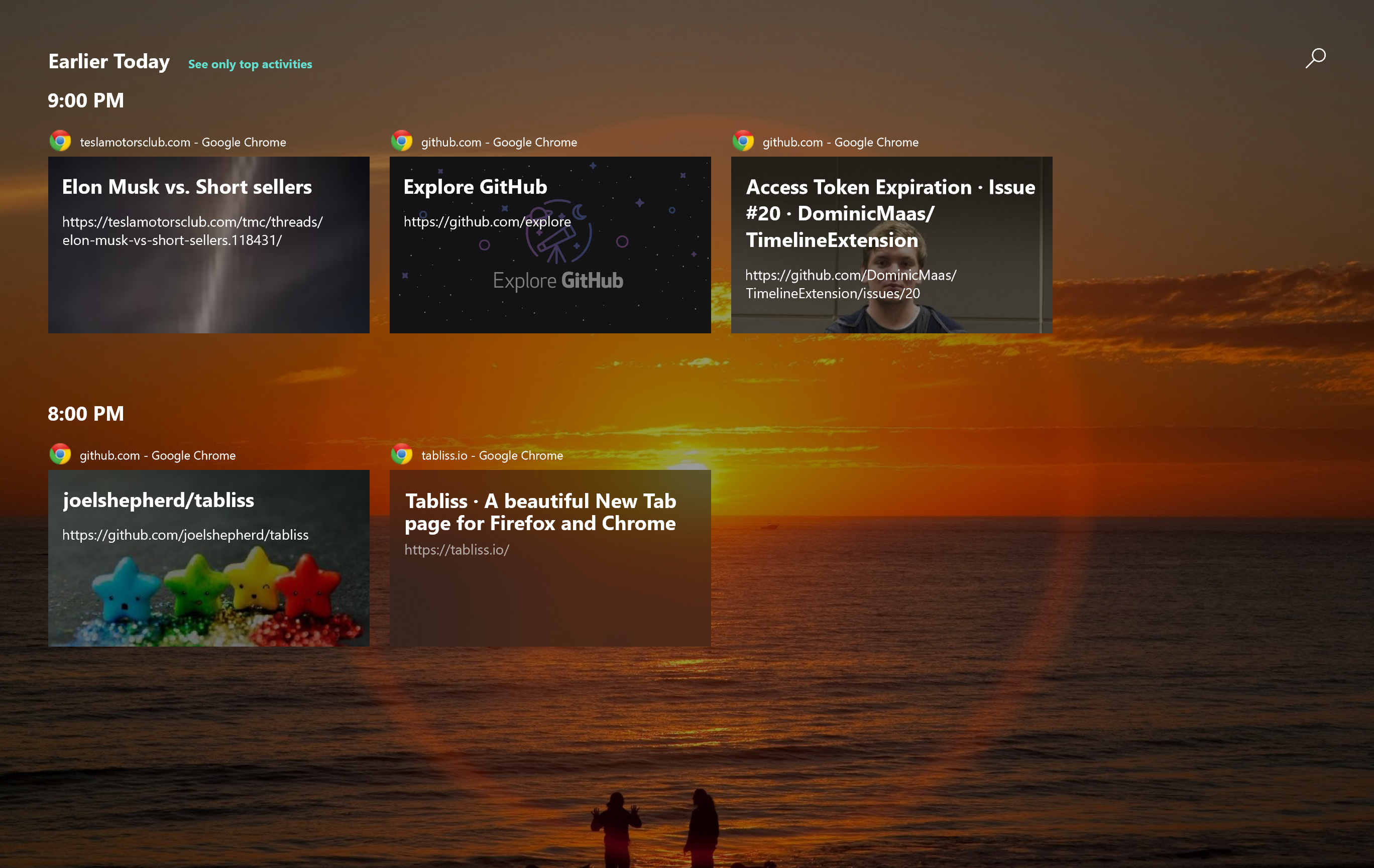 Make Windows 10's Timeline feature actually useful by adding support