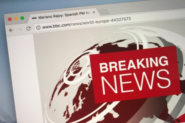 BBC breaking news