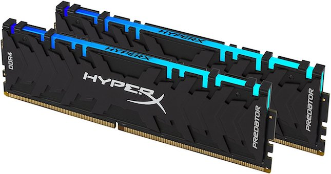 HyperX Predator DDR4 RAM kits get increased speeds and