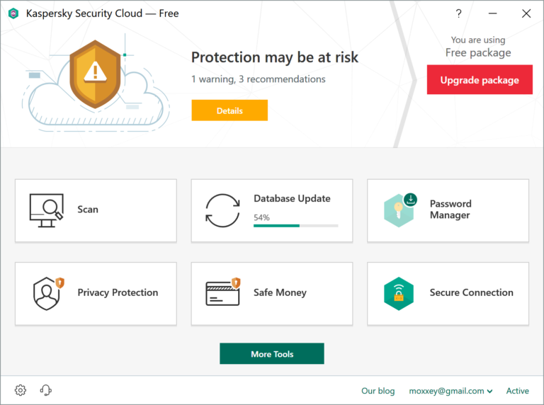 Kaspersky releases Security Cloud Free    and it's very basic
