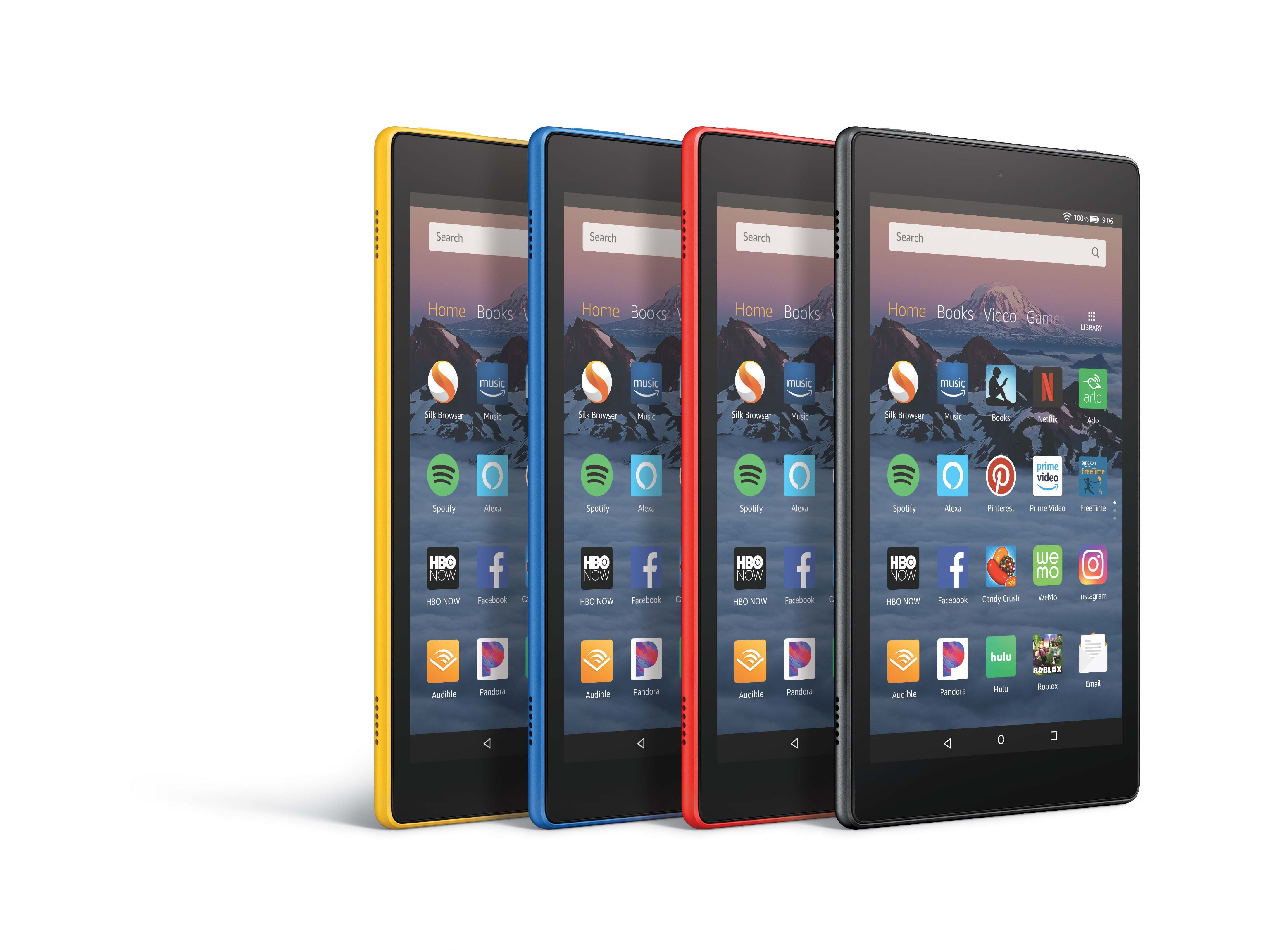 Amazon Announces All New Fire Hd 8 With Alexa Hands Free