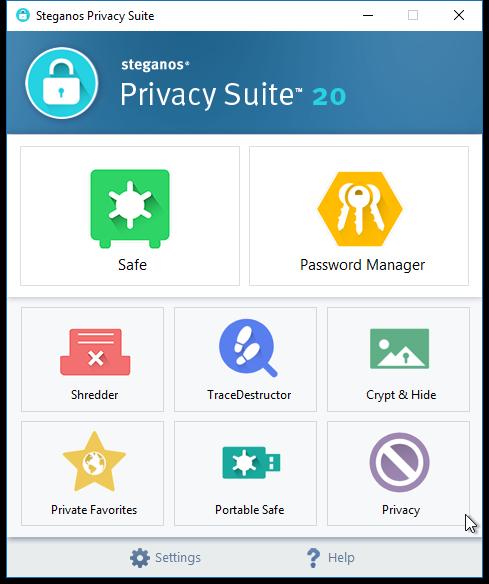 Resultado de imagen para Steganos Privacy Suite 20