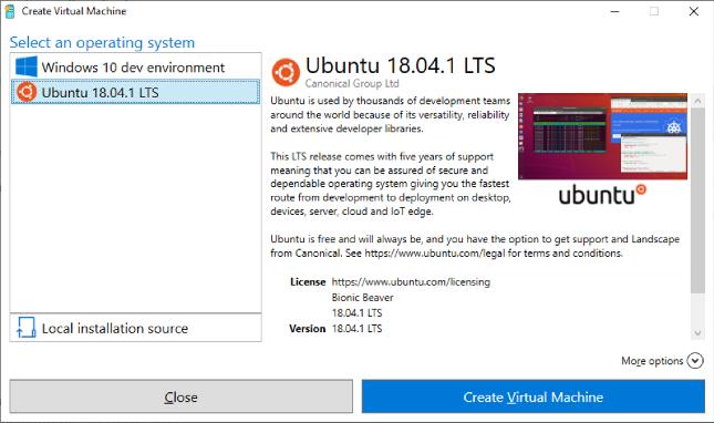 Microsoft and Canonical release Ubuntu Linux virtual machine image