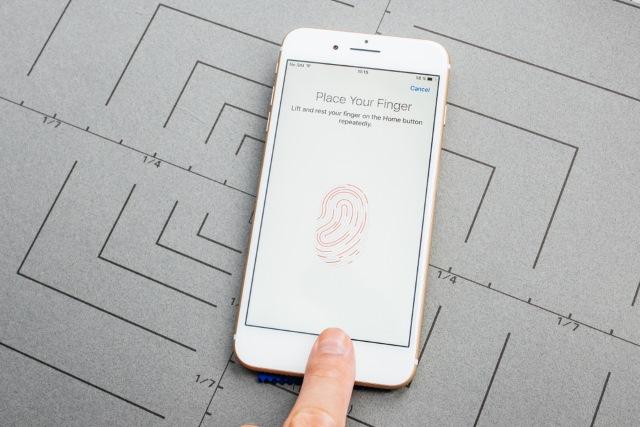 iPhone 8 fingerprint
