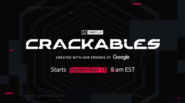 OnePlus Crackables game