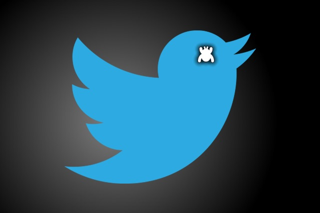 Twitter bug reporter icon