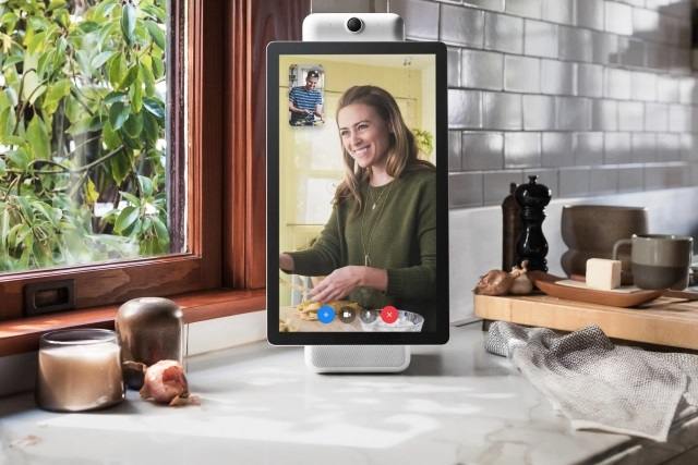 Facebook unveils its new smart video calling hardware: Portal and Portal+
