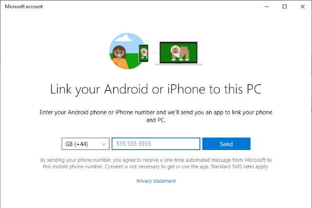 how to access your android phone from windows 10 with