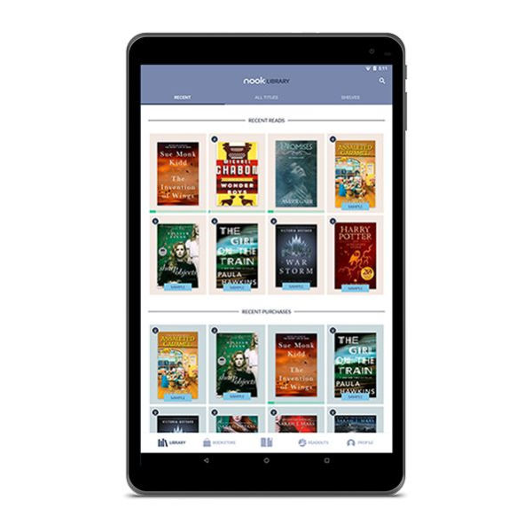 Barnes and Noble announces a new Android-powered NOOK Tablet