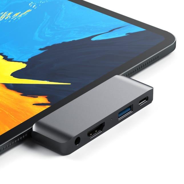 Satechi Unveils Aluminum Usb Type C Mobile Pro Hub Adapter