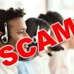 Call center scam
