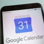 Google Calendar on mobile