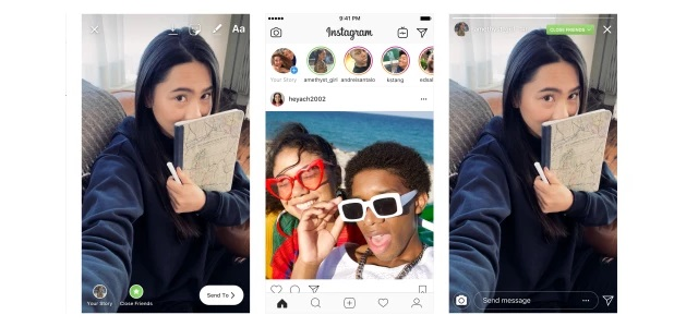 Instagram enge Freunde
